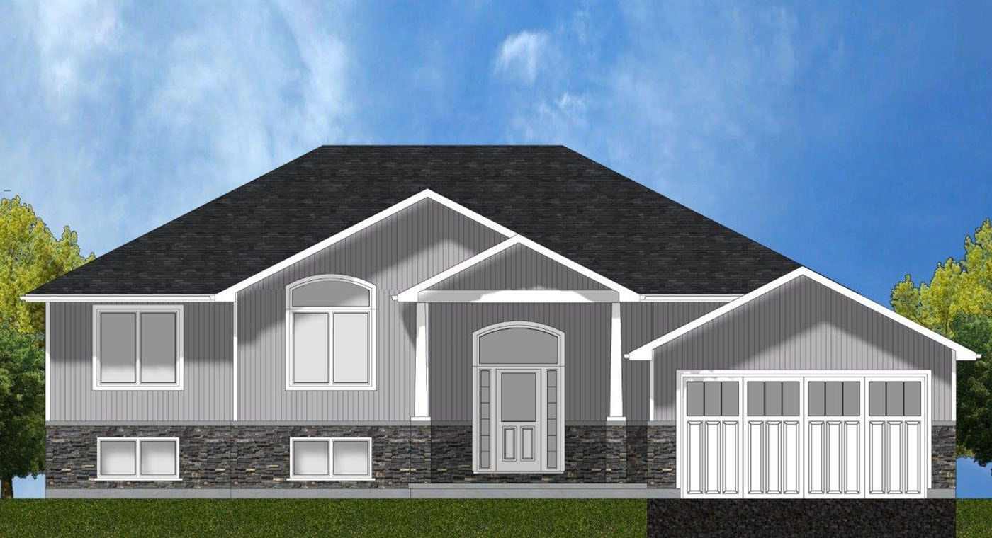 Cambridge Exterior Rendering