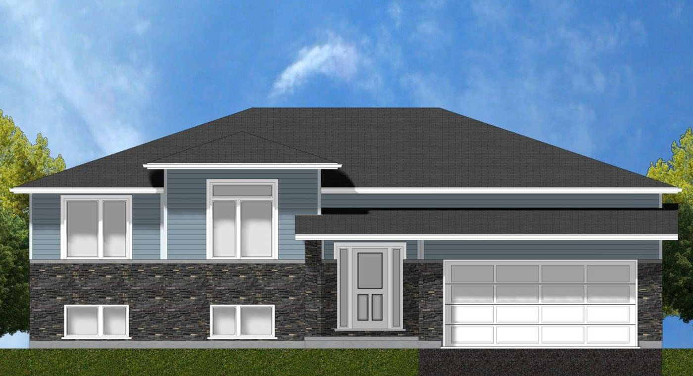 Coral Exterior Rendering