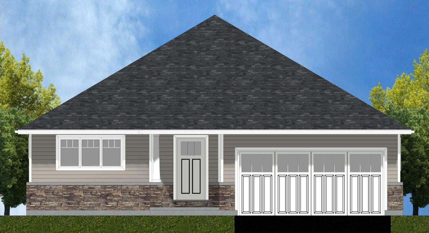Eagle Exterior Rendering