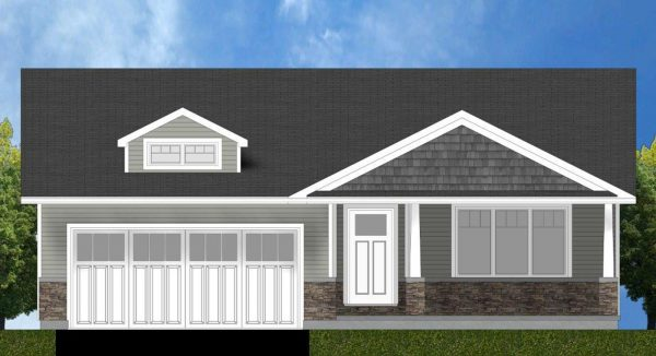 Hickory Exterior Rendering