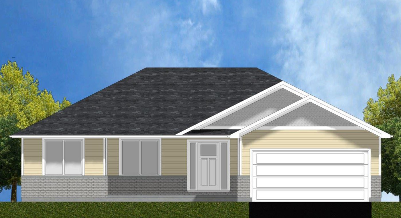 Highland Exterior Rendering