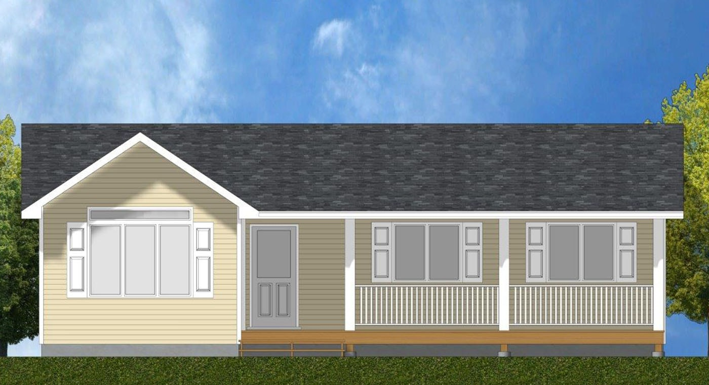 Valleyview Exterior Rendering