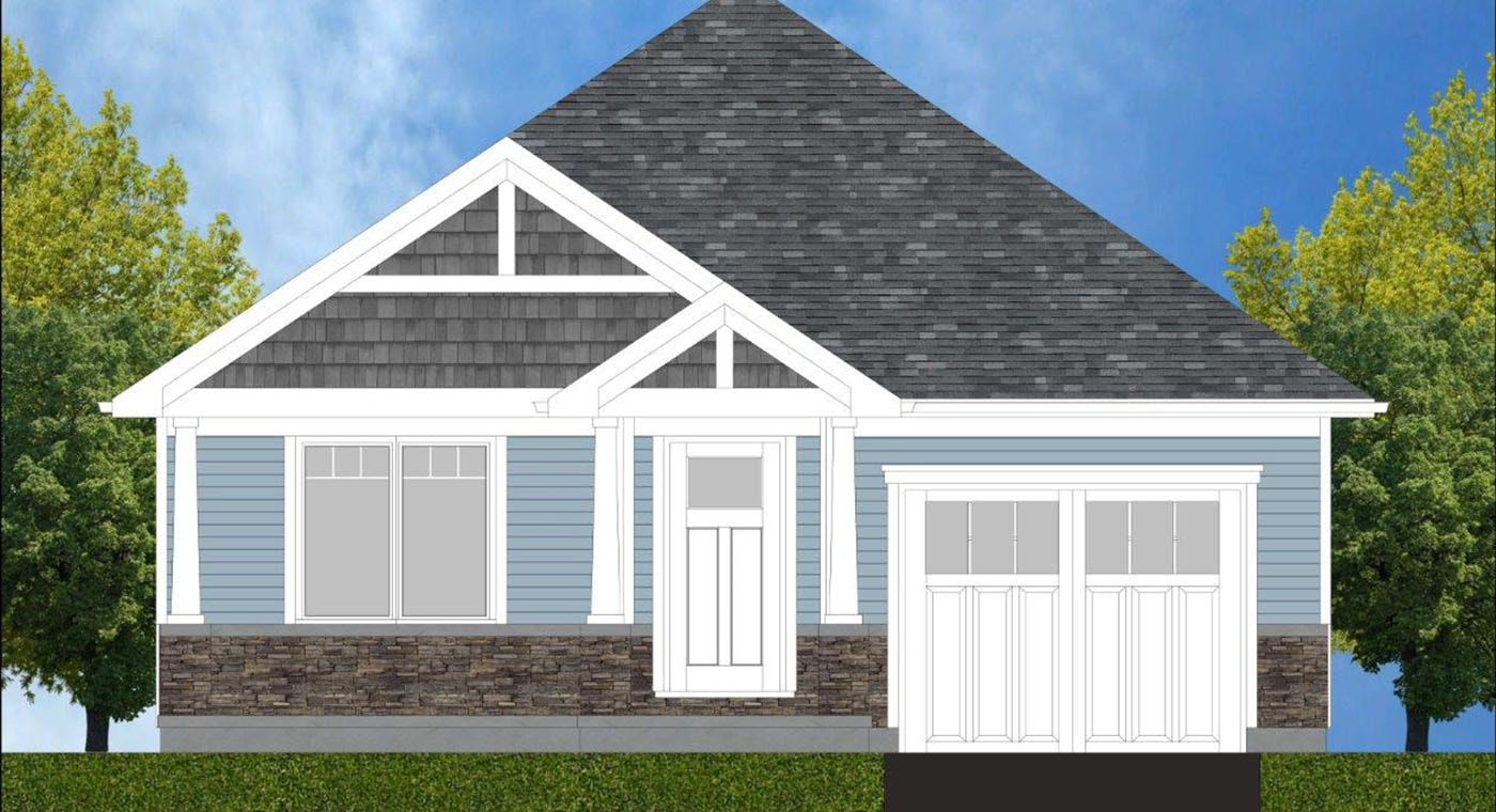 Willow Exterior Rendering
